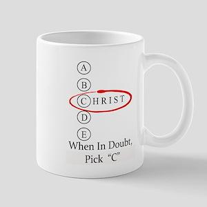 Christ Only One Choice Mug