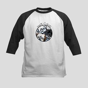 100% Coton Kids Baseball Jersey
