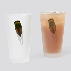 Cicada Drinking Glass