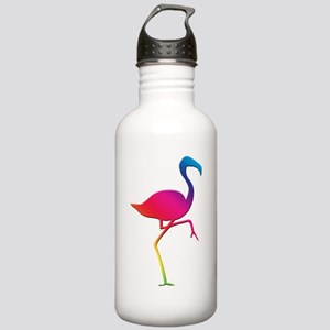 Rainbow Flamingo Stainless Water Bottle 1.0L