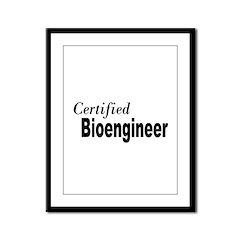 Certified Framed Panel Print