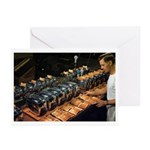 Toaster Tester Greeting Cards (Pk of 10)
