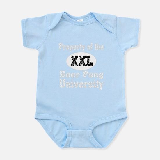 Beer Pong University Infant Bodysuit