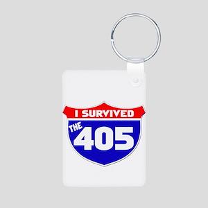 I survived the 405 Aluminum Photo Keychain