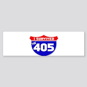 I survived the 405 Sticker (Bumper)