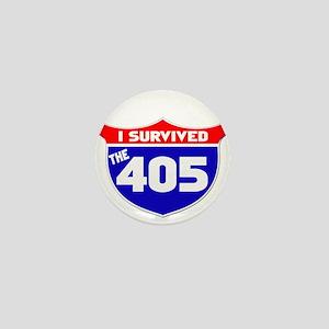 I survived the 405 Mini Button