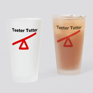 Teeter Totter Drinking Glass