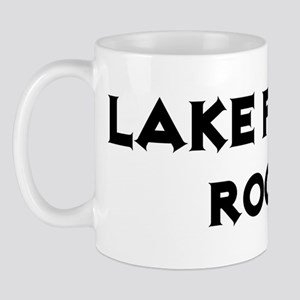 Lake Forest Rocks! Mug