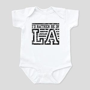 I'd Rather Be In LA Infant Bodysuit