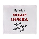 What Would Erica Do? Throw Blanket