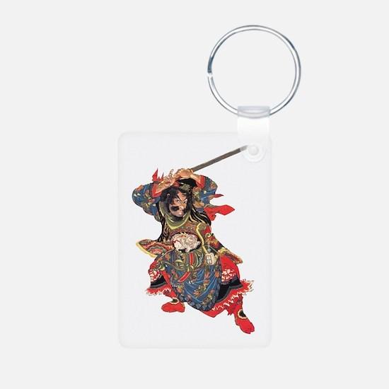 Japanese Samurai Warrior Keychains