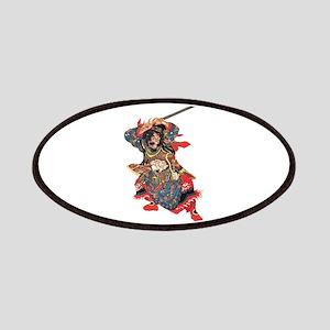 Japanese Samurai Warrior Patches