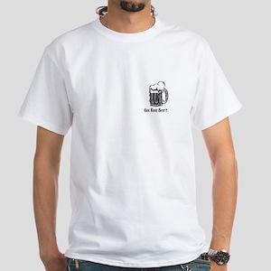 Got Root Beer? white T-shirt