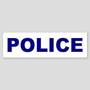 Police Sticker (Bumper)