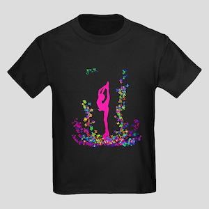 Biellmann Skater Girl Kids Dark T-Shirt