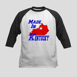 Made In Kentucky Kids Baseball Jersey