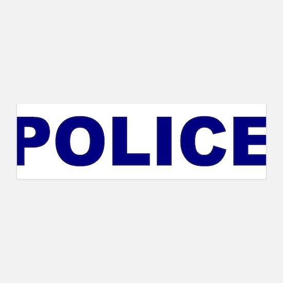 Police 42x14 Wall Peel