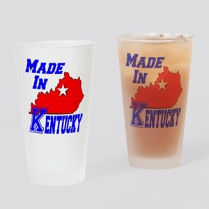 Made In Kentucky Drinking Glass