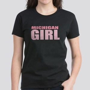 Michigan Girl Women's Dark T-Shirt