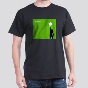 iPolka Parody Black T-Shirt (Green Version)