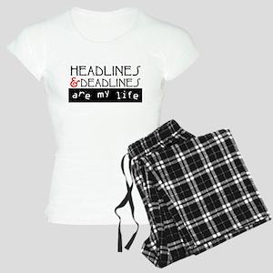 Headlines & Deadlines Women's Light Pajamas