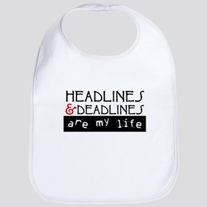 Headlines & Deadlines Bib