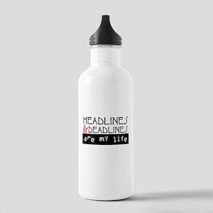 Headlines & Deadlines Stainless Water Bottle 1.0L