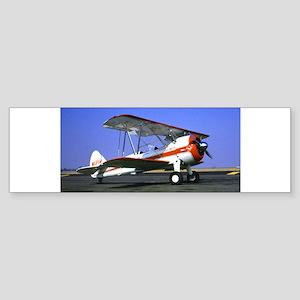 Bi-Plane Sticker (Bumper)