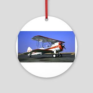 Bi-Plane Ornament (Round)