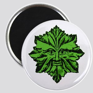 Green Man Magnet