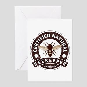 Certified Beekeeper Greeting Card