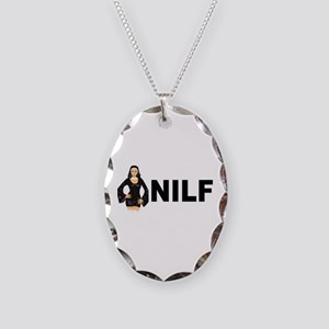 NILF Necklace Oval Charm