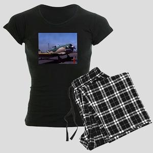 plane 6 Women's Dark Pajamas