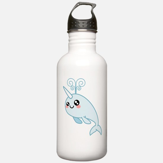 Narwhal Cutie Water Bottle