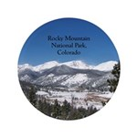 Rocky Mountain National Park Button