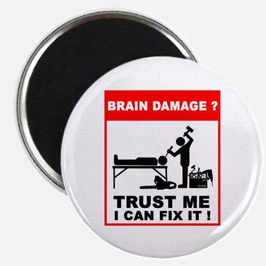 Brain damage? Trust me, I can Magnet