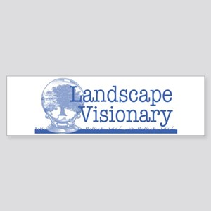 Landscape Visionary Sticker (Bumper)