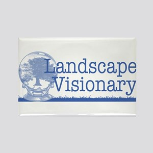 Landscape Visionary Rectangle Magnet