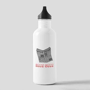 Word Nerd Stainless Water Bottle 1.0L