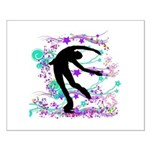 Figure Skater Spin Small Poster
