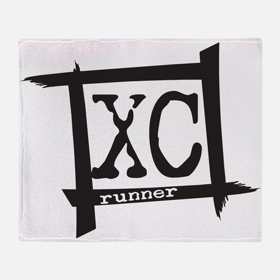 XC Runner Throw Blanket