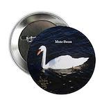 """Mute Swan 2.25"""" Button"""
