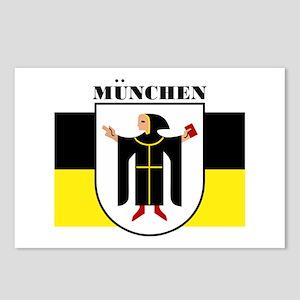 Munchen/Munich Postcards (Package of 8)