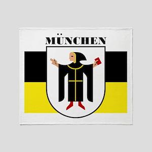 Munchen/Munich Throw Blanket