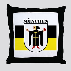 Munchen/Munich Throw Pillow