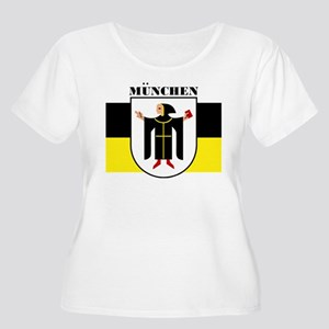 Munchen/Munich Women's Plus Size Scoop Neck T-Shir