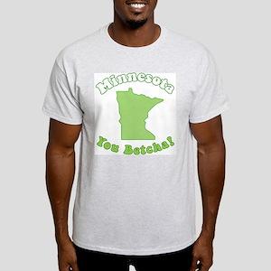 Vintage Minnesota Ash Grey T-Shirt