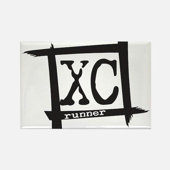 XC Runner Rectangle Magnet