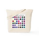 color analysis Tote Bag cool winter