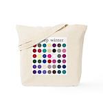 color analysis Tote Bag deep winter